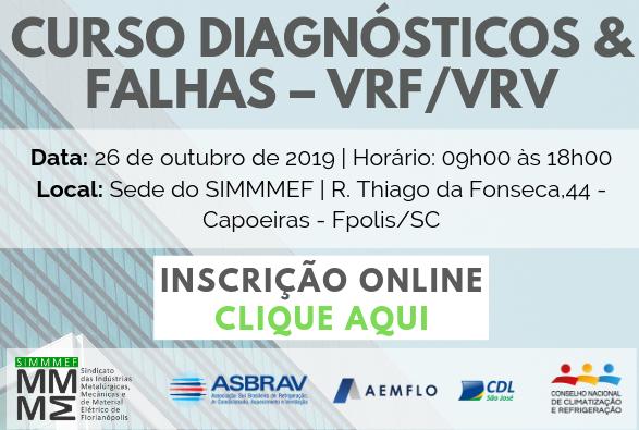 Diagnósticos e Falhas - VRF/VRV